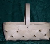 4 Quart Diamond Weave with Handle
