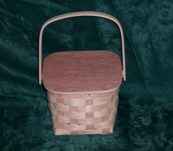 Amish Lunch box w/Handle and Lid
