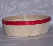 10″ Round Tray Dyed Bands without Handle