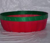 10″ Round Tray Dyed without Handle