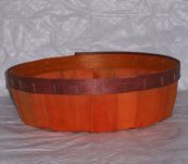 12″ Round Tray Dyed without Handle