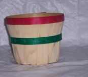 3 Qt Round Dyed Bands without Handle