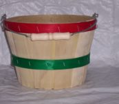 4 Qt Round Dyed Bands with Handle