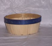 7″ Round Tray Dyed Bands without Handle