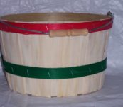 8 Qt Round Dyed Bands with Handle
