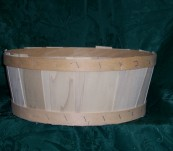 Half Bushel Tub without Handle