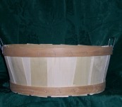 Half Bushel Tub with Handle