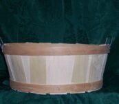 Half Bushel Tub with Handle
