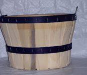 1/2 Bushel Dyed Bands with Handle