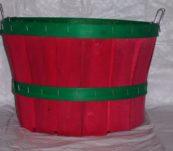 1/2 Bushel Dyed with Handle