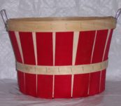 1/2 Bushel Two Tone with Handle