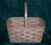 Shopper with Solid Handle
