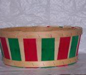 Half Bushel Tub Dyed without Handle